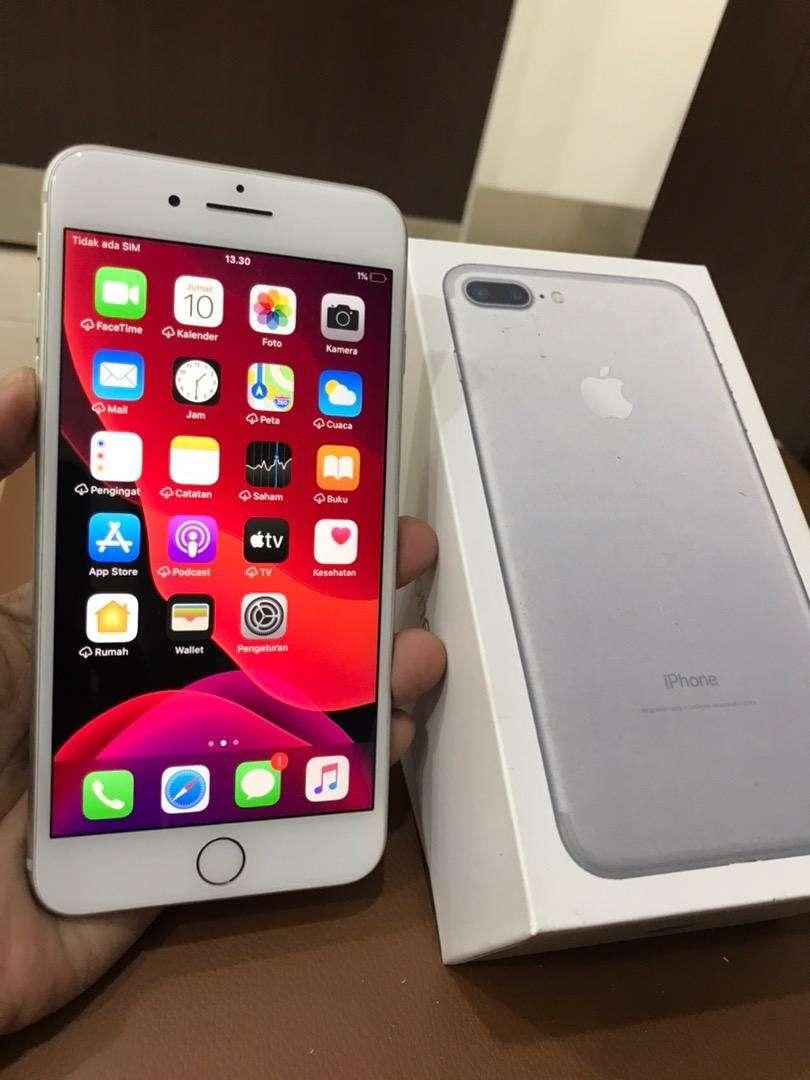 iPhone 7 Plus 32Gb Silver Ex Garansi Inter LL/A Mulus Lus Normal Semua 0