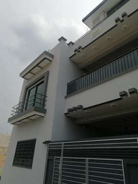 Newly constructed luxury house