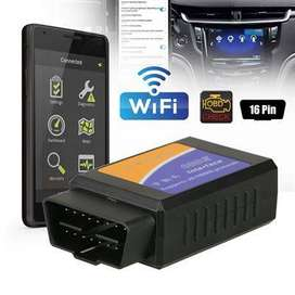 Mini ELM327 WiFi OBD2 OBDII Car Diagnostic Auto Scanner Code Reader To