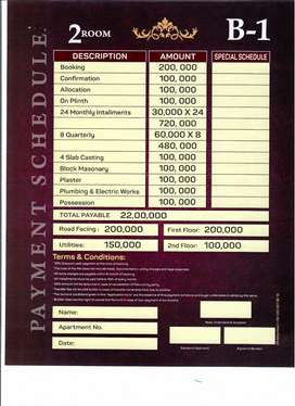 Flat For Sale On Easy Installments