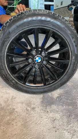BAN GOODYEAR & VELG R 17-225-55 ORI BMW 528i
