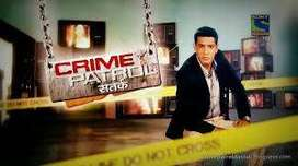CRIME PETROL on Sony TV For Fresher Candidates.