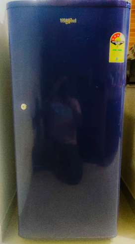 2 year Old Whirlpool Single Door Fridge in very Good Condition