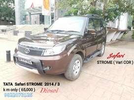 Tata Safari Storme 2.2 LX 4x2, 2014, Diesel