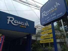 lowongan Pekerjaan Counter Staff di Laundry Rewash Care
