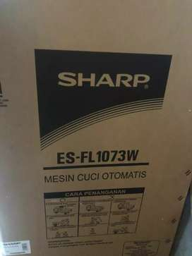 Mesin cuci otomatis SHARP ES-FL 1073W 7kg