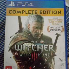 The witcher 3 ps 4 games  complete edition