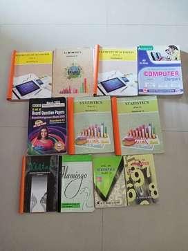 STD 12th all textbooks including marvel.