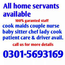 Patient attendant male female chef cook Aya available