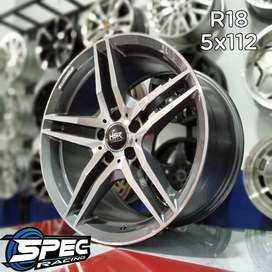 Bisa Tukar Tambah Velg Mobil Mercedes R18 HSR Di Toko velg Mobil Medan