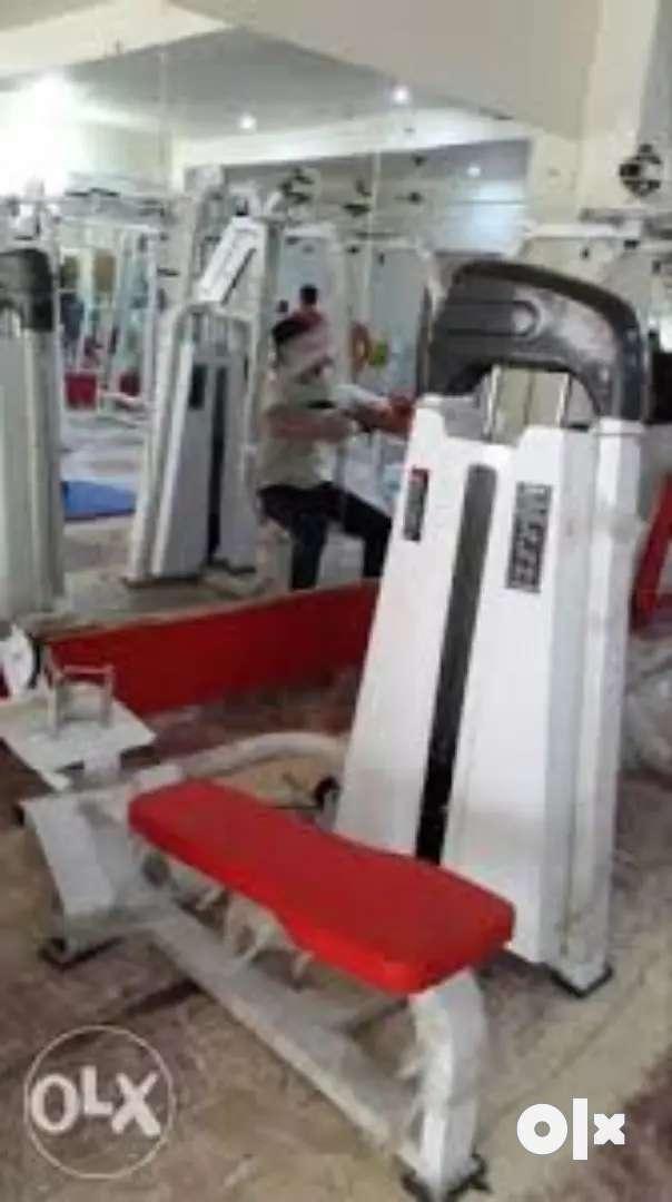 Gym setup all machine call