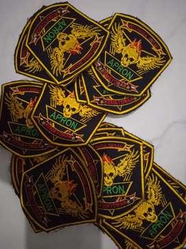 Terima pesanan  emblem bordir 5000@n