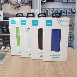 KIVEE PT801 Portable Powerbank 10000mAh Dual Fast Charging Murah