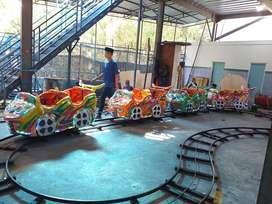 Usaha odong odong EK mini coaster komedi safari handboat