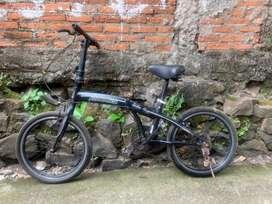 sepeda lipat avand apa adanya
