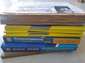 Gate exam books for mechanical engineering