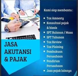 Accounting servis,pelaporan pajak bulanan dan tahunan