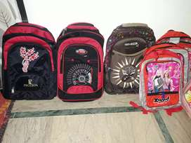 New school bags small and big