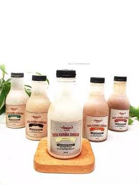 Minuman Sehat Susu Kurma Sukkari  Premium Haneens Kitchen Bogor