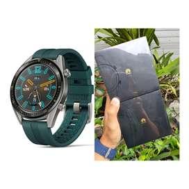 Smart Watch Huawei GT Dark Green New Murah aja