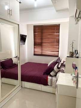DISEWAKAN SEGERA 1 BR+ Apartement Luas 33 m2 di Apt. Menteng Square