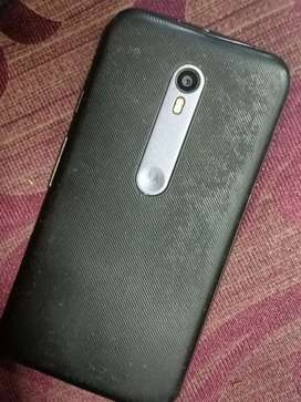 Want to sell moto G3 in good condition