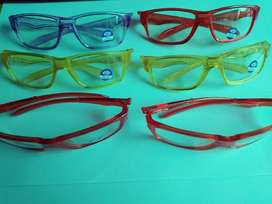 1Pc Kacamata Lensa Datar Anti Radiasi Bahan Silikon Warna Biru untuk A