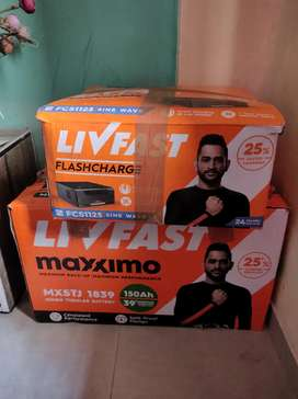 Livfast inverter with battery (NEW)