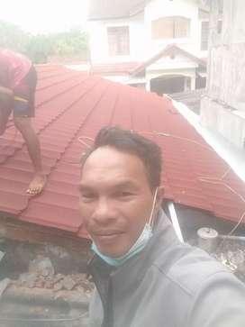 Atap baja ringan barang terpasang