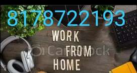 Online home based job data entry work from home