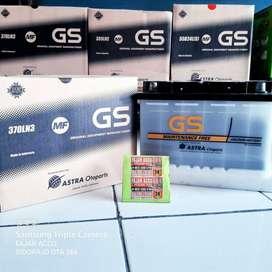 Aki murah FORTUNER VRZ sidoarjo GS LN3 ORIGINAL 12v 65 Amper OTA 266