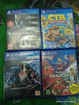 Kaset BD PS4 Second (bisa BT/TT)