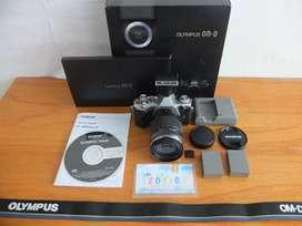 Olympus OMD Em5 Mark II Lensa 14-150mm II istimewa