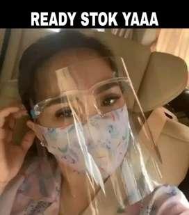 Face Shield Kacamata Nagita Slavina Artis Murah Berkualitas READY STOK