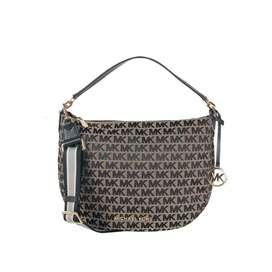 Tas Wanita Branded Michael Kors Bedford Shoulder Bag Black Multi