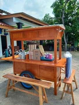 gerobak angkringan murah free ongkir cod 1228