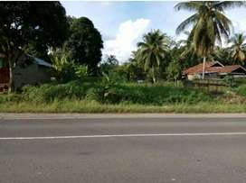Tanah Tepi Jl. Lintas Sumatera Dharmasraya  (Depan kantor  DPRD)