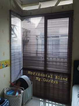 pabrikasi Horizontal blind Gordyn hordeng gorden inovasi karya ideal