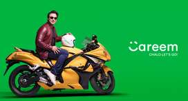 Need careem driver for bike