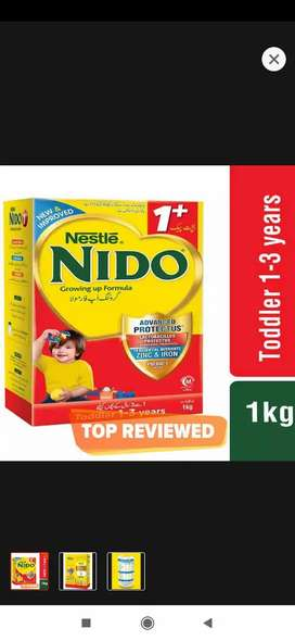Nido 1+ Plus 1000gm Available