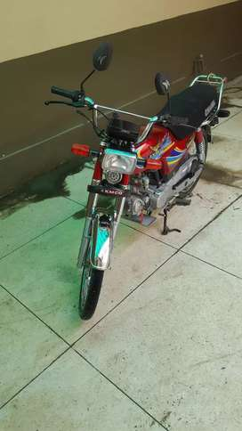 Good condition bick 2019 red in colour