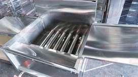 Deep Fryer Alat Penggoreng Donat Gas otomatis stainless di Klaten