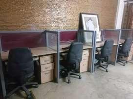 Computer cum office Workstation 2+2