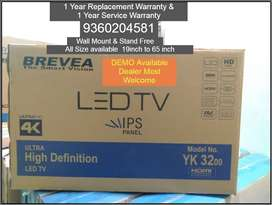 BREVEA & SONY LED TV Available all size 19inch to 65inch