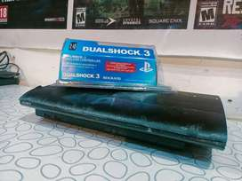 PS3 ultra slim 500Gb with 40 Games installed
