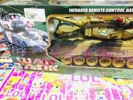 Mainan anak baru remote control war tank baru