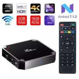 Android Smart Box X96 2Gb / 16Gb Brand New Box Pack With Free Delivery