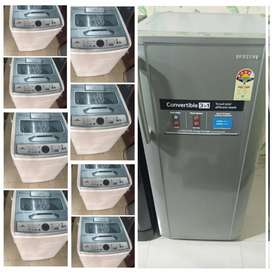 5 year warranty / Fridge - fully automatic washing machine available