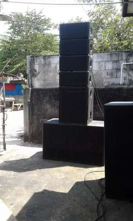 Satu set sound system di jual murah