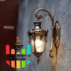 Cod Lampu Hias Gantung Dinding Antik Klasik Taman Pilar Pagar